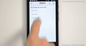 Amazon Android App – How To Call Customer Service