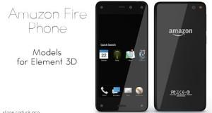 Amazon Fire Phone for Video Copilot's Element 3D