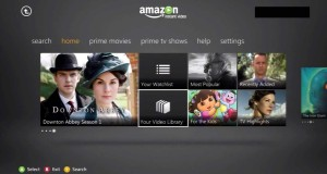 Amazon Instant – Xbox Live App Walkthrough
