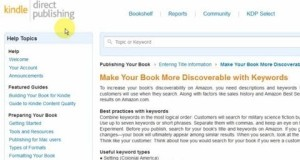 Amazon Keywords for Books and Authors