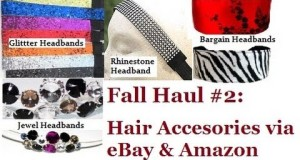 Beauty Shopping: Hair Accessories via eBay & Amazon