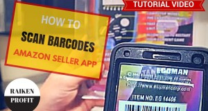 How to Scan Barcodes on Amazon FBA For Beginners – Amazon Seller APP