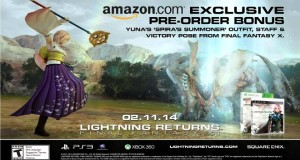 【Lightning Returns: Final Fantasy XIII Yuna】Amazon Preorder Bonus – Yuna outfit