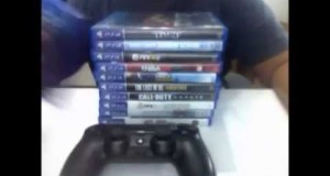 My ps4 game collection 2014